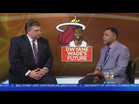 """Tim Reynolds On Dwyane Wade Possibly Retiring """"He's Been Thinking About This For A While"""""""