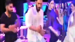 Repeat youtube video Virat Kohli And Anushka Sharma Dance At Yurvaj Singh & Hazel Keech Wedding In Goa