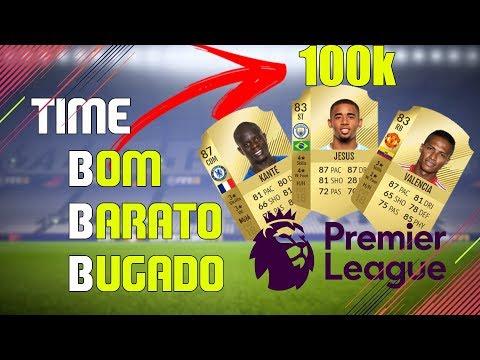 Time Bom, Barato e Bugado - Premiere League [Fifa 18 Ultimate Team]