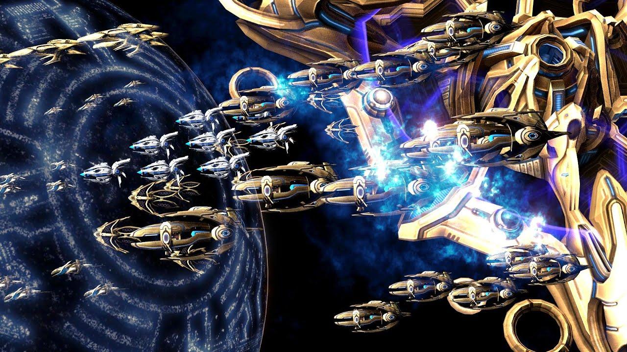 golden armada brood war youtube