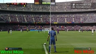 FIFA 15 - Real Vision 2.0 Graphic Comparison [1080p 60fps]