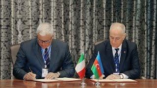 AZERTAC, Adn Kronos International SRL sign cooperation agreement