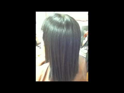 Brazilian Blowout On Quot Black Hair Quot Youtube