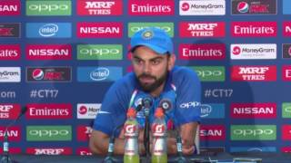 Virat Kohli after losing ICC champions trophy Final India vs Pakistian Press Conference 2017
