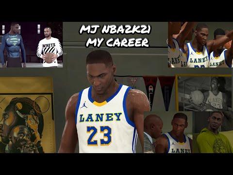 Michael Jordan NBA2K21 My Career Modded Laney High School PART 1
