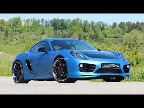 """2013 speedART Porsche Cayman SP81-CR on 21"""" 360 cv 40,7 mkgf"""