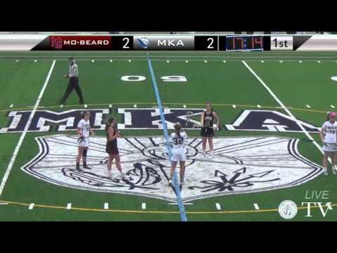 MKA vs Morristown-Beard - Varsity Girls Lacrosse 4/29/2016