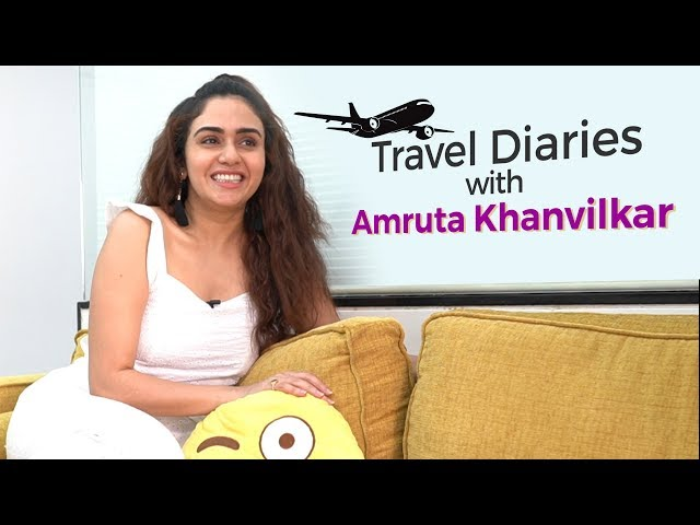 Travel Diaries with Amruta Khanvilka   I Never Plan anything while Travelling SOLO   BollywoodLife