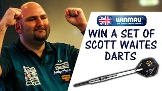 COMPETITION | WIN A SET OF SCOTT WAITES DARTS