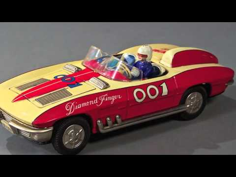 The Antique Toy Shop in New York: Vintage Robots, Cars and Games
