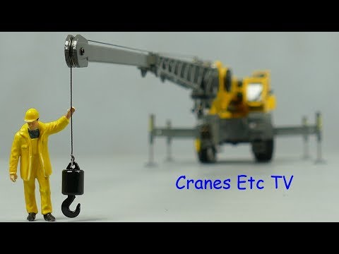 Conrad Grove GRT8100 Rough Terrain Crane by Cranes Etc TV