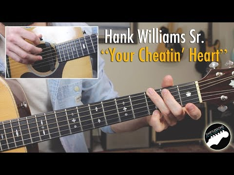 "Hank Williams ""Your Cheatin' Heart"" - Easy Country Songs Lesson!"