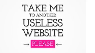 Websites for when you