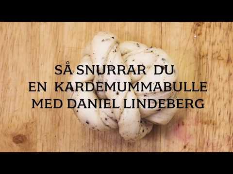 Så snurrar du en kardemummabulle med bagaren Daniel Lindeberg