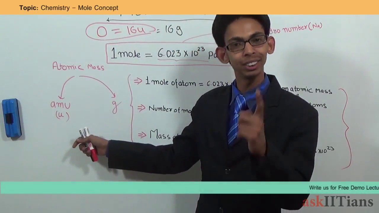 Mole Concept – Study Material for IIT JEE | askIITians