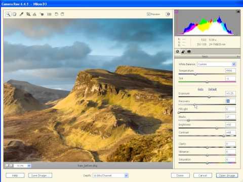 Edycja zdjęć w Adobe Camera Raw [tutorial ACR]