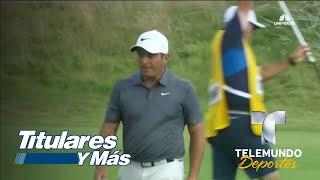 Francesco Molinari se mantiene líder (-7) | Telemundo Deportes | Telemundo Deportes