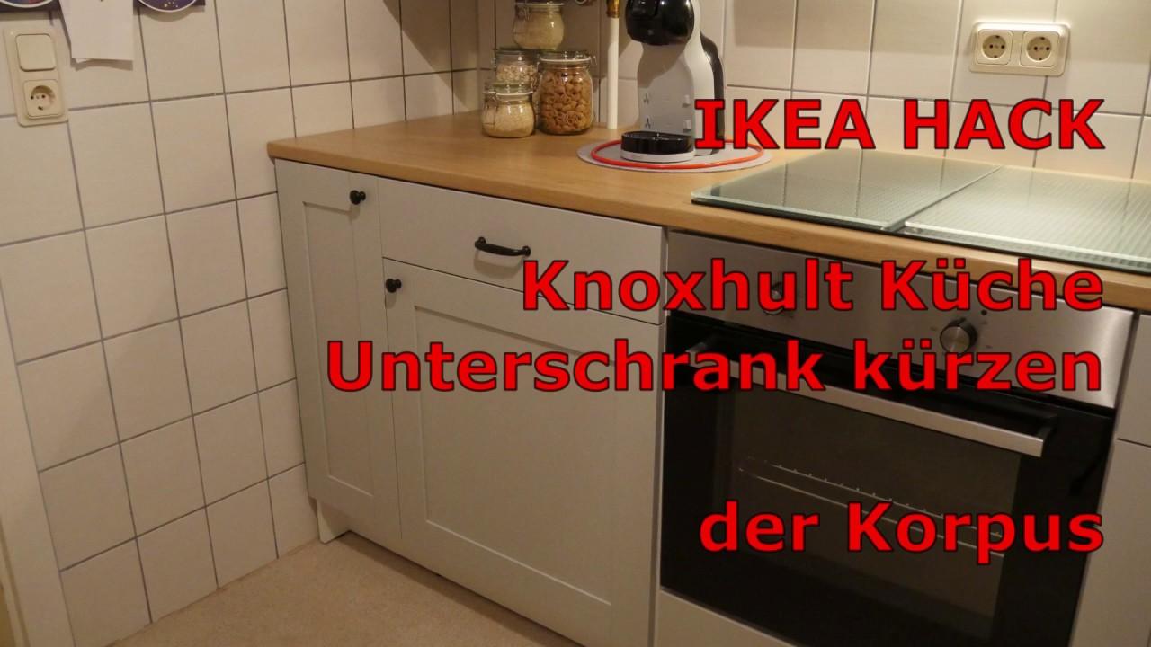 Ikea Hack Knoxhult Kuche Unterschrank Kurzen Der Korpus Youtube