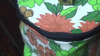 DIY How to make an easy cosmetic bag