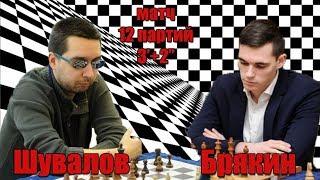 Матч Евгений Шувалов vs Михаил Брякин на lichess.org