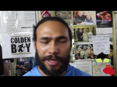 keith thurman a day at the gym with one time full video - esnews @thebadgerlmc