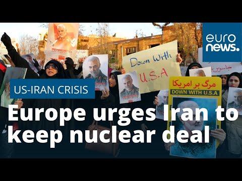Europe urges Iran
