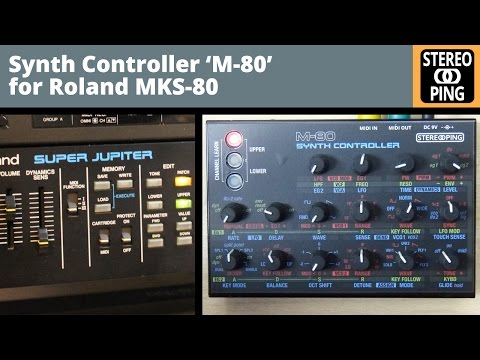 'M-80' midicontroller for