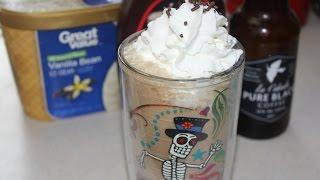 Cafe Latte Milkshake - Summer Time Milk Shake