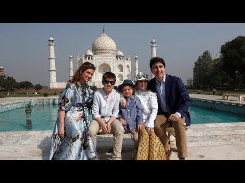 Prime Minister Justin Trudeau and family visit Taj Mahal Mp3