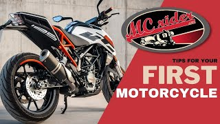 Motorcycles for new riders...here are some of the choices.