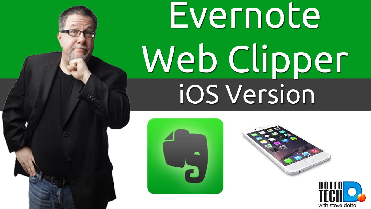 Using the Evernote Webclipper on iOS Mobile