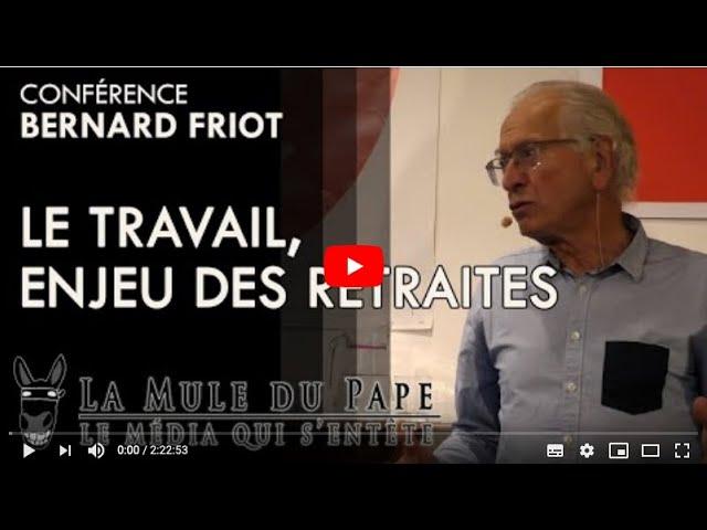 Bernard Friot à la Carmagnole