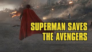 Superman Saves The Avengers (Fan-Made)