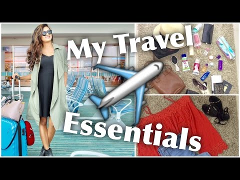 Airport / Travel Carry On Essentials + Outfit Ideas + Hacks