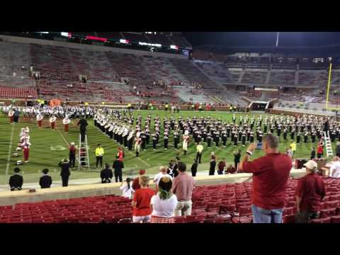 Pride of Oklahoma & Ohio State Marching Band - America the Beautiful