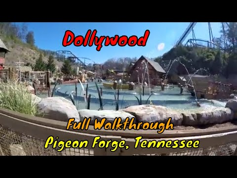 Tour of Dollywood Theme Park in Pigeon Forge, TN