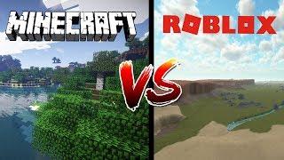 Wenn MINECRAFT Met ROBLOX!!! (Ein Roblox Kurz)