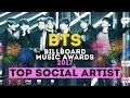 BTS - TOP SOCIAL ARTIST 2017   BILLBOARD MUSIC AWARDS #BBMAs   ARI RANG