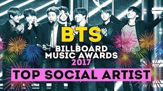 BTS - TOP SOCIAL ARTIST 2017 | BILLBOARD MUSIC AWARDS #BBMAs | ARI RANG
