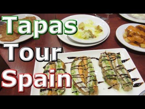 Amazing TAPAS TOUR in Spain