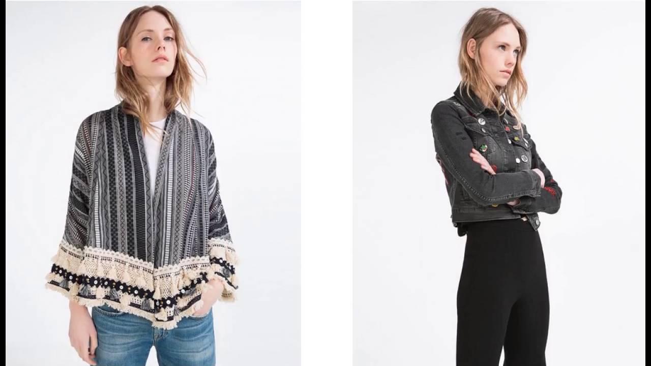 Zara Folleto Mujer Chaquetas Para Completo qEX11z 4e295e7ca1e