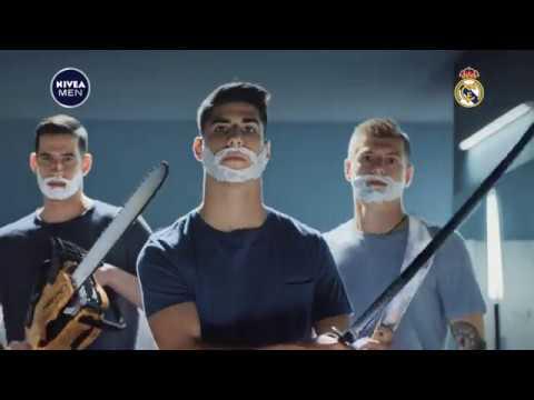 NIVEA MEN a Real Madrid uvádějí: Nová Pečující voda po holení 2v1 Protect & Care