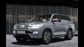 City Car Driving 1.5.5 - Toyota Land Cruiser 200 V8 2016 | Custom SOUND | + LINK | 1080p & G27