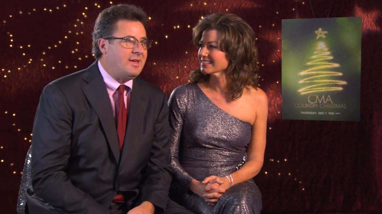 Vince Gill & Amy Grant - Thur., Dec. 1 on ABC | CMA Country Christmas 2011 | CMA - YouTube