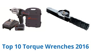 10 Best Torque Wrenches 2016