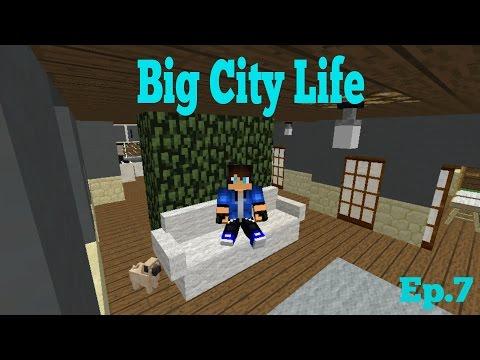 Big City Life Ep.7: Losing My Dad! (Minecraft Roleplay)