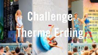 Schöne Münchnerin Challenge in der Therme Erding