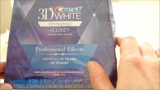 Отбеливающие полоски для белоснежной улыбки Crest 3D White(Профессиональные отбеливающие полоски! Можно ли профессионально отбелить зубы, не используя дорогостоящи..., 2017-02-23T14:42:23.000Z)