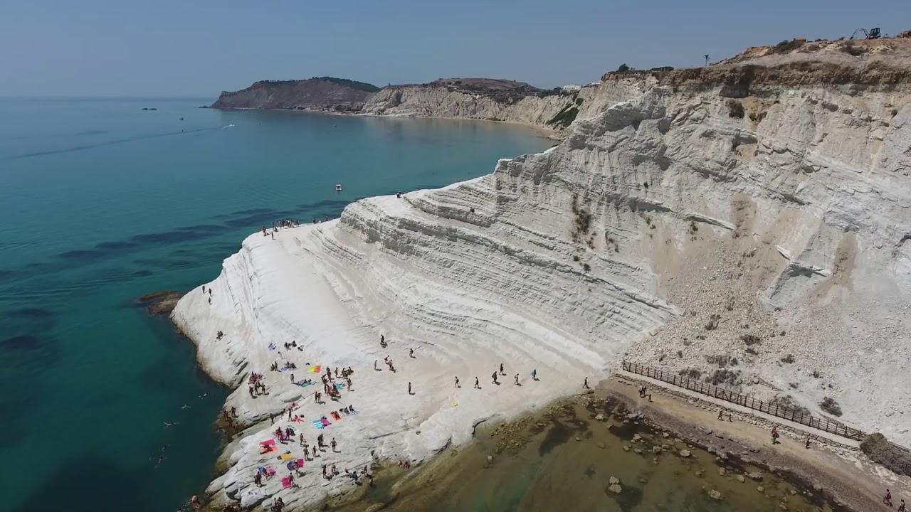Scala dei Turchi   Strand auf Sizilien   Ferienhaus Sizilien