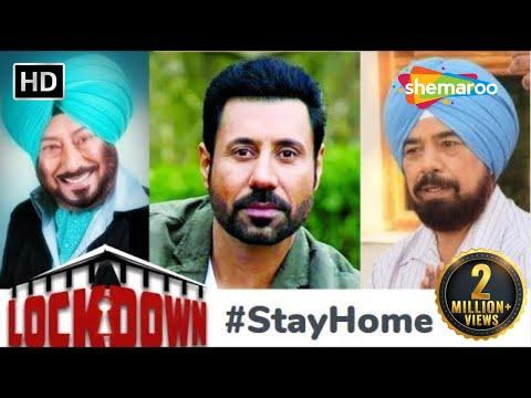 Download Lockdown 2020 #StayHome & StayHappy with Jaswinder Bhalla, Binnu Dhillon, B N - Punjabi Comedy Movie